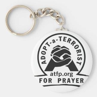 Porte-clés Adoptez un terroriste pour la prière