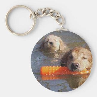 Porte-clés Adulte et chiot de porte - clé de chiens d'arrêt