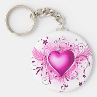 Porte-clés Ailes roses