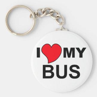 Porte-clés Aimez mon autobus