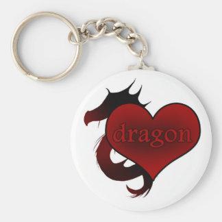 Porte-clés Aimez mon porte - clé de dragon