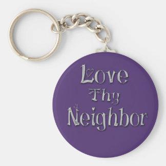 Porte-clés Aimez Thy porte - clé voisin