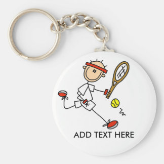 Porte-clés Ajoutez le porte - clé personnalisable de tennis