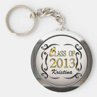 Porte-clés Ajoutez l'or nommé et le porte - clé décoratif