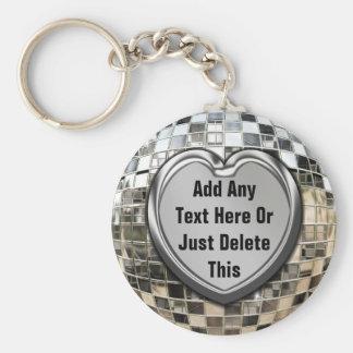 Porte-clés Ajoutez n'importe quel porte - clé de boule de