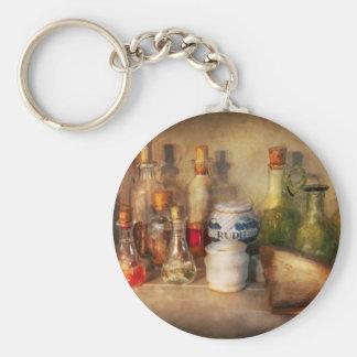 Porte-clés Alchimie - l'alchimiste à la maison