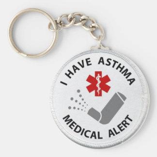 Porte-clés Alerte d'asthme