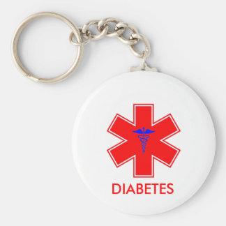 Porte-clés Alerte diabétique - porte - clé/étiquette - de