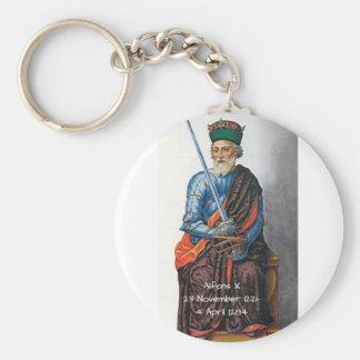 Porte-clés Alfons X