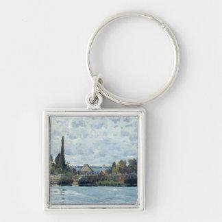 Porte-clés Alfred Sisley | la Seine chez Bougival