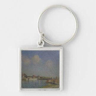 Porte-clés Alfred Sisley | le Loing au Saint-Mammes