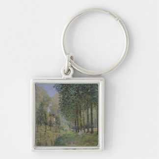 Porte-clés Alfred Sisley | le repos par le courant