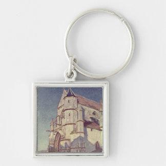 Porte-clés Alfred Sisley | l'église chez Moret
