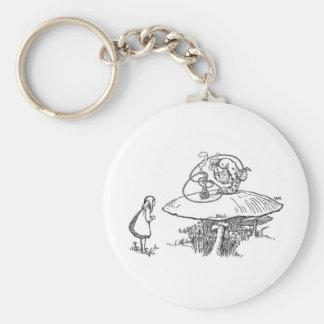 Porte-clés Alice au pays des merveilles 1