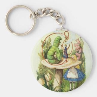 Porte-clés Alice dans le bouton de narguilé de Caterpillar du