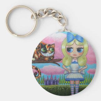 Porte-clés Alice dans le pays des merveilles et le porte -