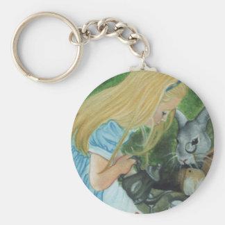Porte-clés Alice dans le porte - clé du pays des merveilles