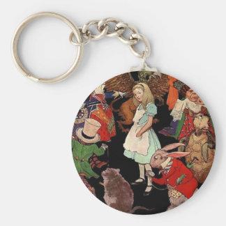 Porte-clés Alice_in_Wonderland