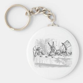 Porte-clés Alice vintage dans le porte - clé de thé du pays