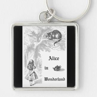 Porte cl s chat de cheshire personnalis s for Alice dans le miroir balthus