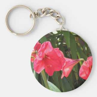 Porte-clés Amaryllis rouge