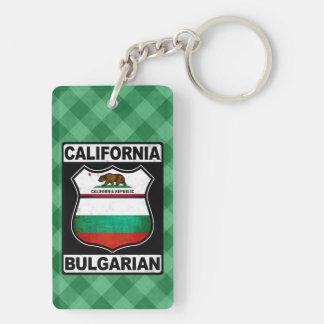 Porte-clés américain bulgare de la Californie