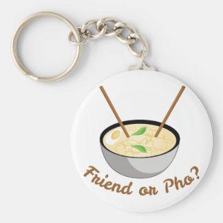 Porte-clés Ami ou Pho