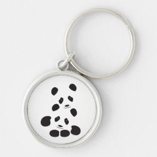 Porte-clés Amitié de panda