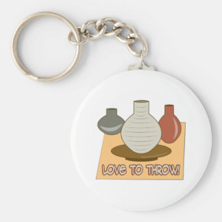 Porte-clés Amour à jeter