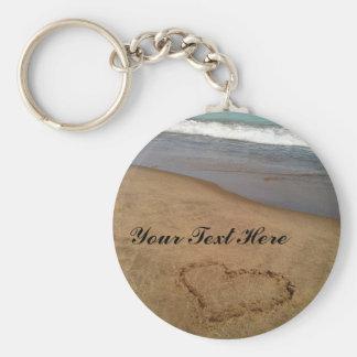 Porte-clés Amour au porte - clé de plage