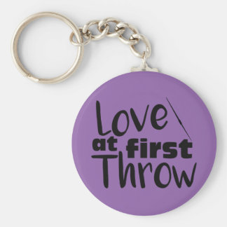 Porte-clés Amour au premier jet, porte - clé de jet de