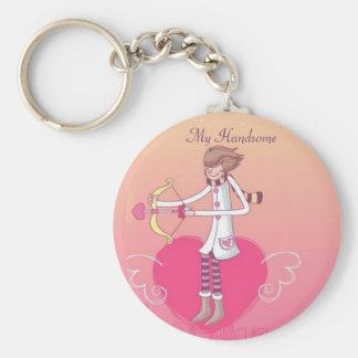 Porte-clés Amour dans le ciel - mon beau (porte - clé de