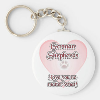 Porte-clés Amour de bergers allemands vous n'importe ce que