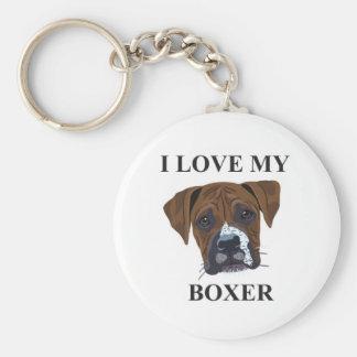 Porte-clés Amour de boxeur