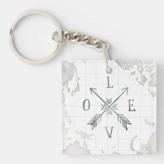 Porte-clés Amour de l'aventure III | d'envie de voyager