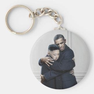 Porte-clés Amour de l'ONU Corée du Nord d'Obama Kim Jong