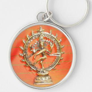 Porte-clés amour indou de krishna d'un dieu de l'Inde de