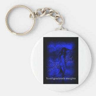 Porte-clés Amour lithuanien 'vous êtes le girl le plus beau