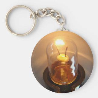Porte-clés Ampoule rougeoyante de basse tension