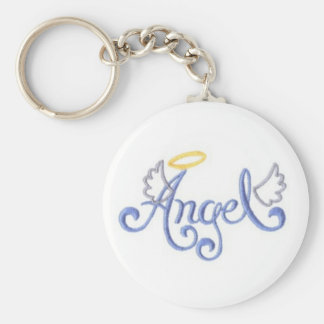 Porte-clés Ange brodé
