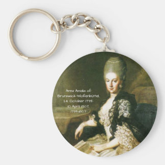 Porte-clés Anna Amalia de Brunswick-Wolfenbuttel 1739-1807