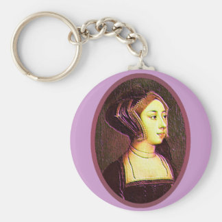Porte-clés Anne Boleyn - porte - clé de femme