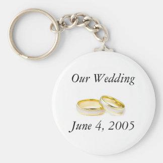 Porte-clés Anneaux de mariage