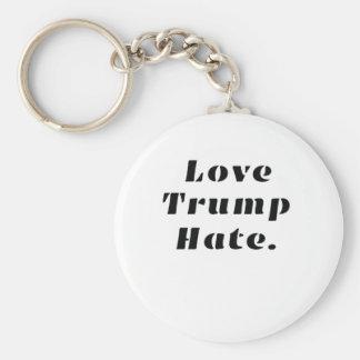 Porte-clés Anti-Atout de haine d'atouts d'amour