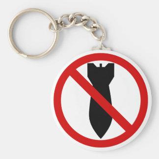 Porte-clés Anti guerre