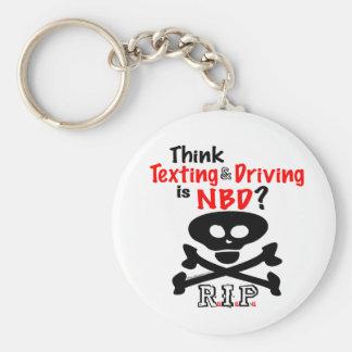 Porte-clés Anti-Service de mini-messages tout en conduisant