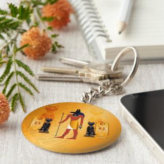 Porte-clés Anubis, un dieu égyptien antique