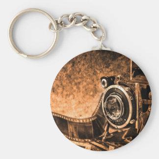 Porte-clés Appareil-photo vintage de film - photographie