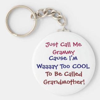 Porte-clés Appelez-juste moi Grammy porte - clé frais de