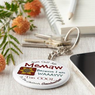 Porte-clés Appelez-moi porte - clé de grand-maman de Memaw